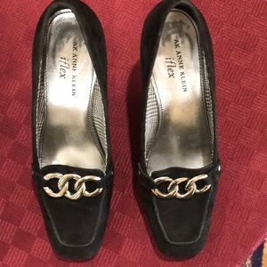 Anne Klein leather (suede) shoes